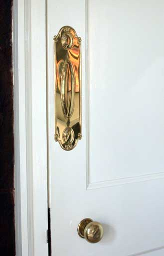 Period Door Push Plate